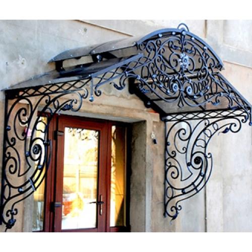 Fantastic Wrought Iron Awning Steel Custom Design Canopy ...