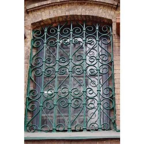 Vintage Wrought Iron Window Grill Antirust Steel Cheaper ...